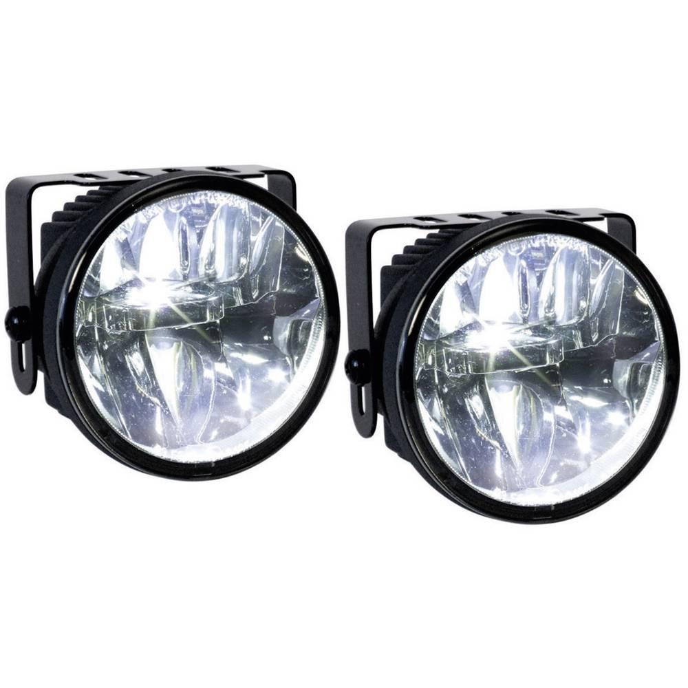 Tågelygter, Kørelys; LED (Ø x L) 77 mm x 65 mm Devil Eyes 610767