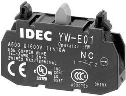 Kontaktelement 1 x sluttekontakt Tastende 240 V/AC Idec YW-E10 1 stk