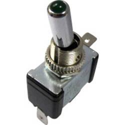 SCI Vippeafbryder til bil 12V/DC, 20 A R13-404-SQ GREEN N/A N/A