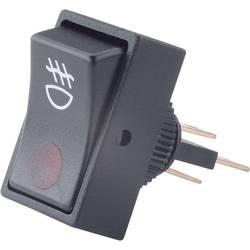 Bil-vippekontakt TRU COMPONENTS TC-R13-207B2 RED 12 V/DC 20 A 1 x Off/On Klikkende 1 stk