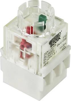 Kontaktelement 1 x brydekontakt, 1 x sluttekontakt Tastende 250 V/AC Schlegel BZOIK 1 stk