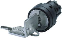 Nøglekontakt Idec YW1K-33D Sort 2 x 45 ° 1 stk