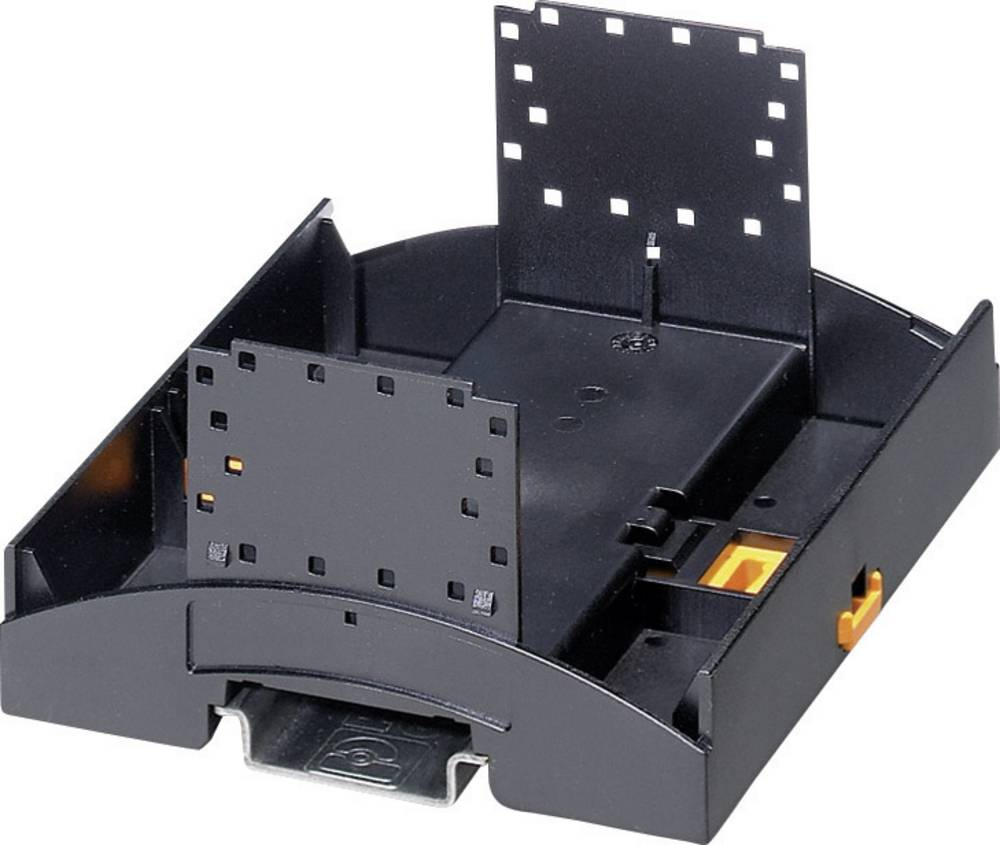 Kućište za DIN-letvu, donji dio 89.7 x 107.6 x 62.6 polikarbonat crne boje Phoenix Contact BC 107,6 UT HBUS BK 1 kom.