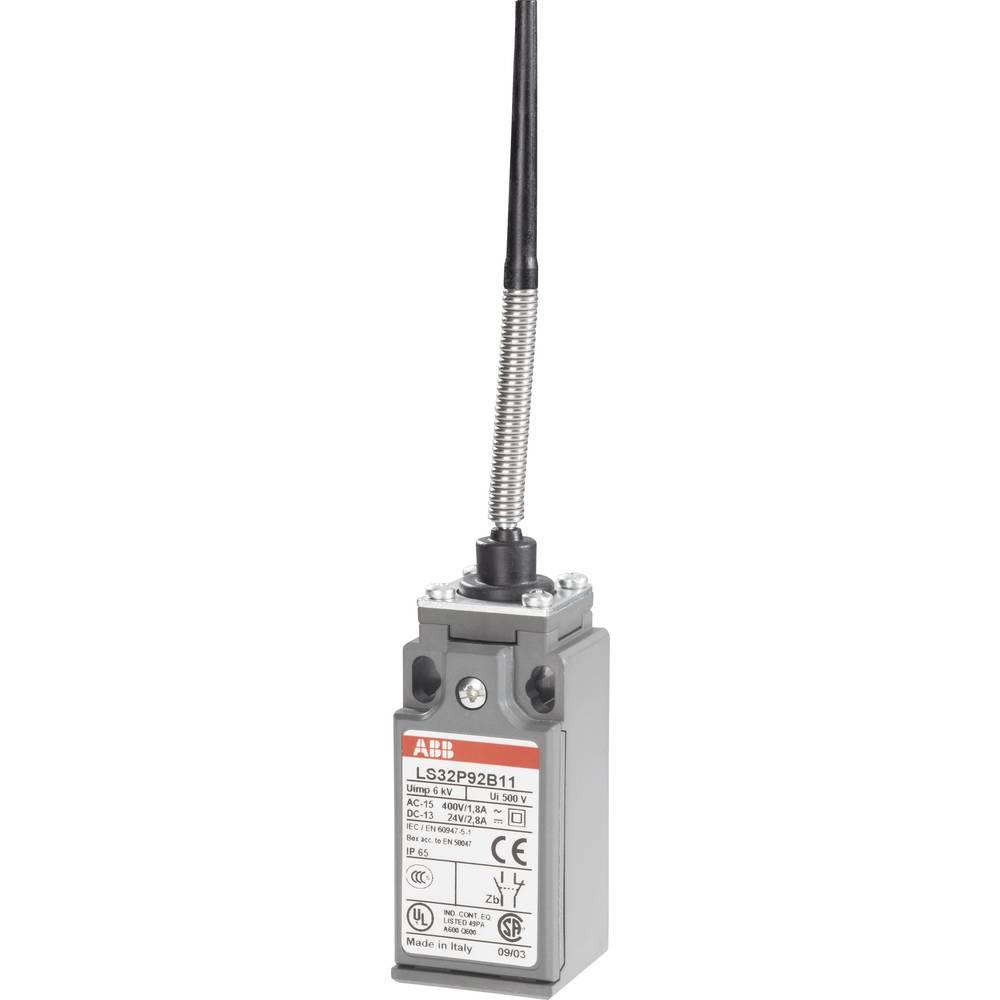 Limit Switch 400 V Ac 18 A Spring Loaded Rod Momentary Abb 2 Way Ls32p92b11 Ip65 1 Pcs