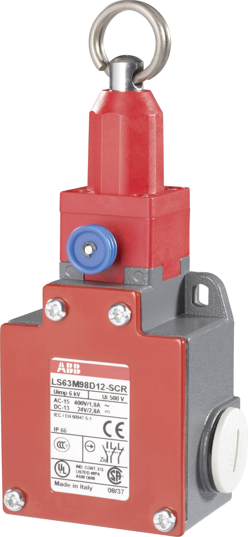ABB LS63M98D12-SCR Pull cord switch 400 V AC 1 8 A Pull cord latch