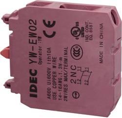 Kontaktelement 2 x brydekontakt Tastende 240 V/AC Idec YW-EW02 1 stk