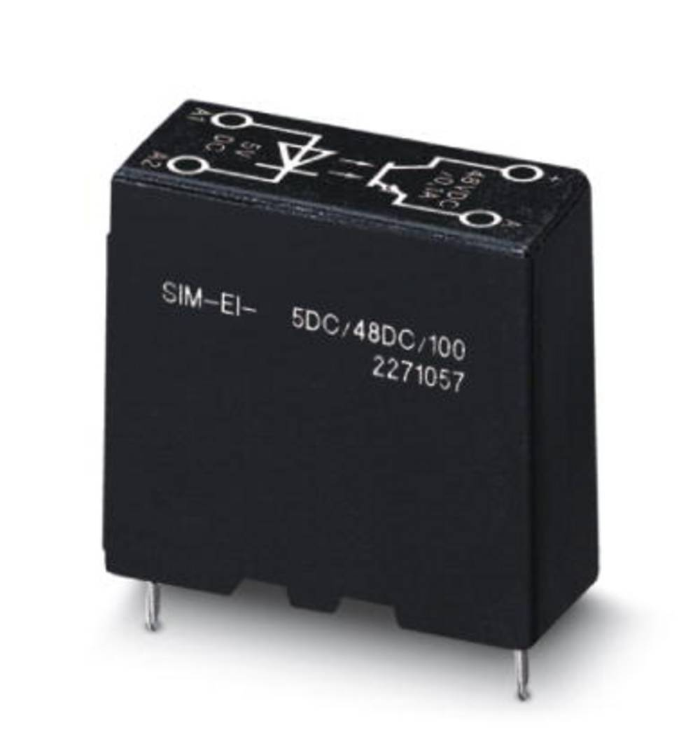 Polprevodniški rele 10 kosov Phoenix Contact SIM-EI- 5DC/48DC/100 obremenilni tok (maks.): 100 mA preklopna napetost (maks.): 48