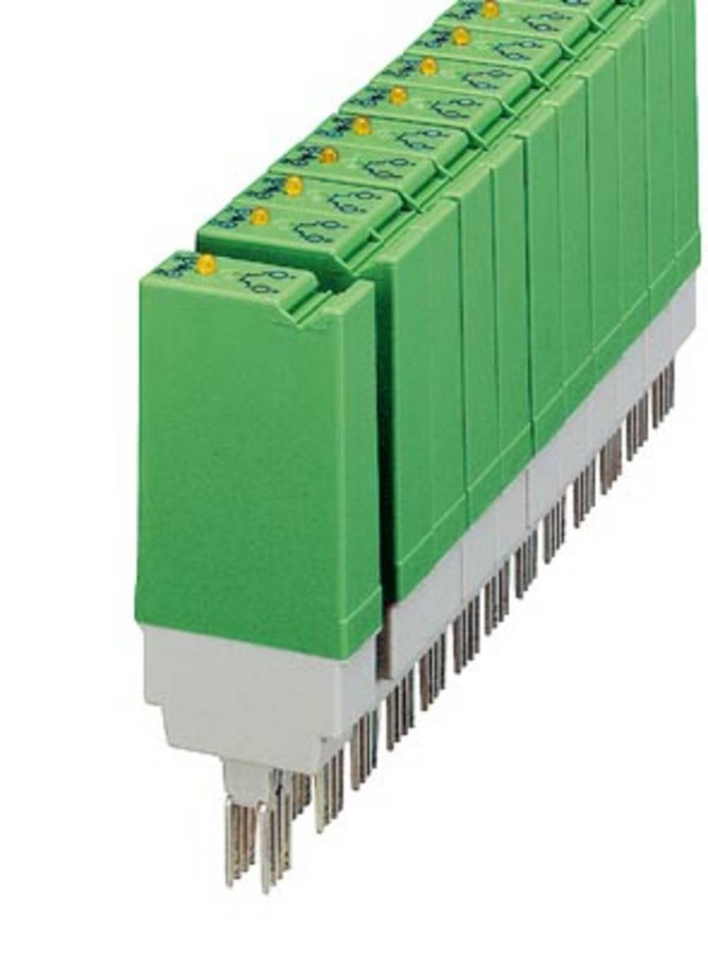 Halvlederrelæ 10 stk Phoenix Contact ST-OE2- 24DC/ 48DC/100 Last-Strøm (maks.): 100 mA Koblingsspænding (max.): 48 V/DC