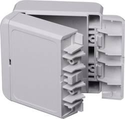 Kabinet til montering på væggen, Installationskabinet 80 x 89 x 47 ABS Lysegrå (RAL 7035) Bopla Bocube B 080805 ABS-7035 1 stk