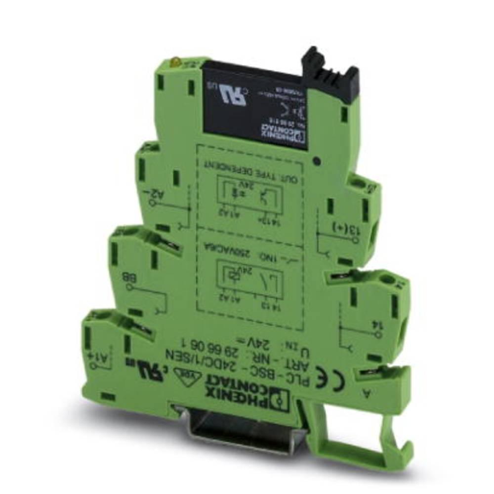 Halvlederrelæ 10 stk Phoenix Contact PLC-OSC-230UC/ 48DC/100/SEN Last-Strøm (maks.): 100 mA Koblingsspænding (max.): 48 V/DC