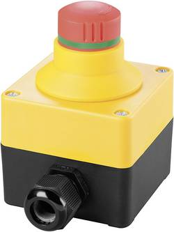 Nødstopknap 250 V/AC 16 A 2 x brydekontakt Schlegel SIL22_QRBLUV_118308 IP65 1 stk