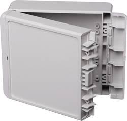 Kabinet til montering på væggen, Installationskabinet 125 x 151 x 60 Polycarbonat Lysegrå (RAL 7035) Bopla Bocube B 141306 PC-V0