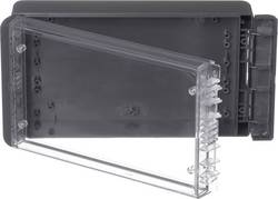 Kabinet til montering på væggen, Installationskabinet 125 x 231 x 60 Polycarbonat Grafitgrå (RAL 7024) Bopla Bocube B 221306 PC-