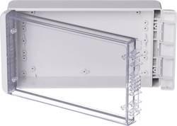 Kabinet til montering på væggen, Installationskabinet 125 x 231 x 60 Polycarbonat Lysegrå (RAL 7035) Bopla Bocube B 221306 PC-V0