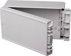 Kabinet til montering på væggen, Installationskabinet 125 x 231 x 90 ABS Lysegrå (RAL 7035) Bopla Bocube B 221309 ABS-7035 1 stk