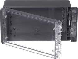 Kabinet til montering på væggen, Installationskabinet 125 x 231 x 90 Polycarbonat Grafitgrå (RAL 7024) Bopla Bocube B 221309 PC-