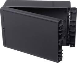 Kabinet til montering på væggen, Installationskabinet 170 x 271 x 60 ABS Grafitgrå (RAL 7024) Bopla Bocube B 261706 ABS-7024 1 s