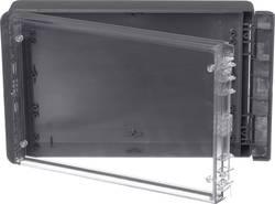 Kabinet til montering på væggen, Installationskabinet 170 x 271 x 60 Polycarbonat Grafitgrå (RAL 7024) Bopla Bocube B 261706 PC-