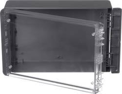 Kabinet til montering på væggen, Installationskabinet 170 x 271 x 90 Polycarbonat Grafitgrå (RAL 7024) Bopla Bocube B 261709 PC-