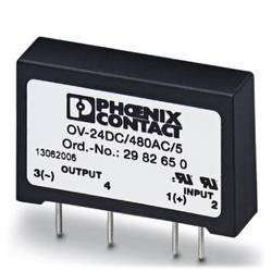 Halvlederrelæ 10 stk Phoenix Contact OV-24DC/480AC/5 Last-Strøm (maks.): 5 A Koblingsspænding (max.): 530 V/AC