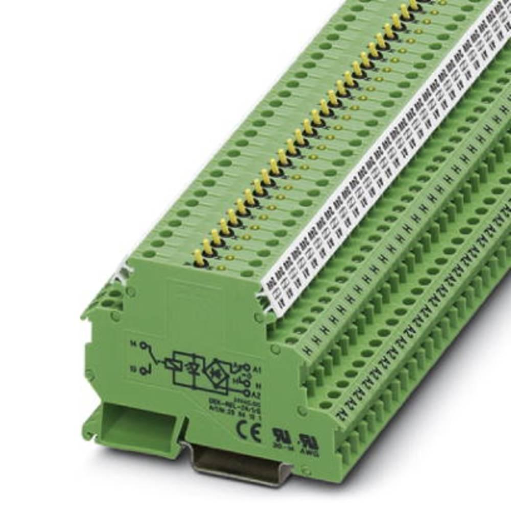 Relejska spona 10 kosov Phoenix Contact DEK-REL- 24/1/S nazivna napetost 24 V/DC, 24 V/AC preklopni tok (maks.): 3 A 1 zapiralni