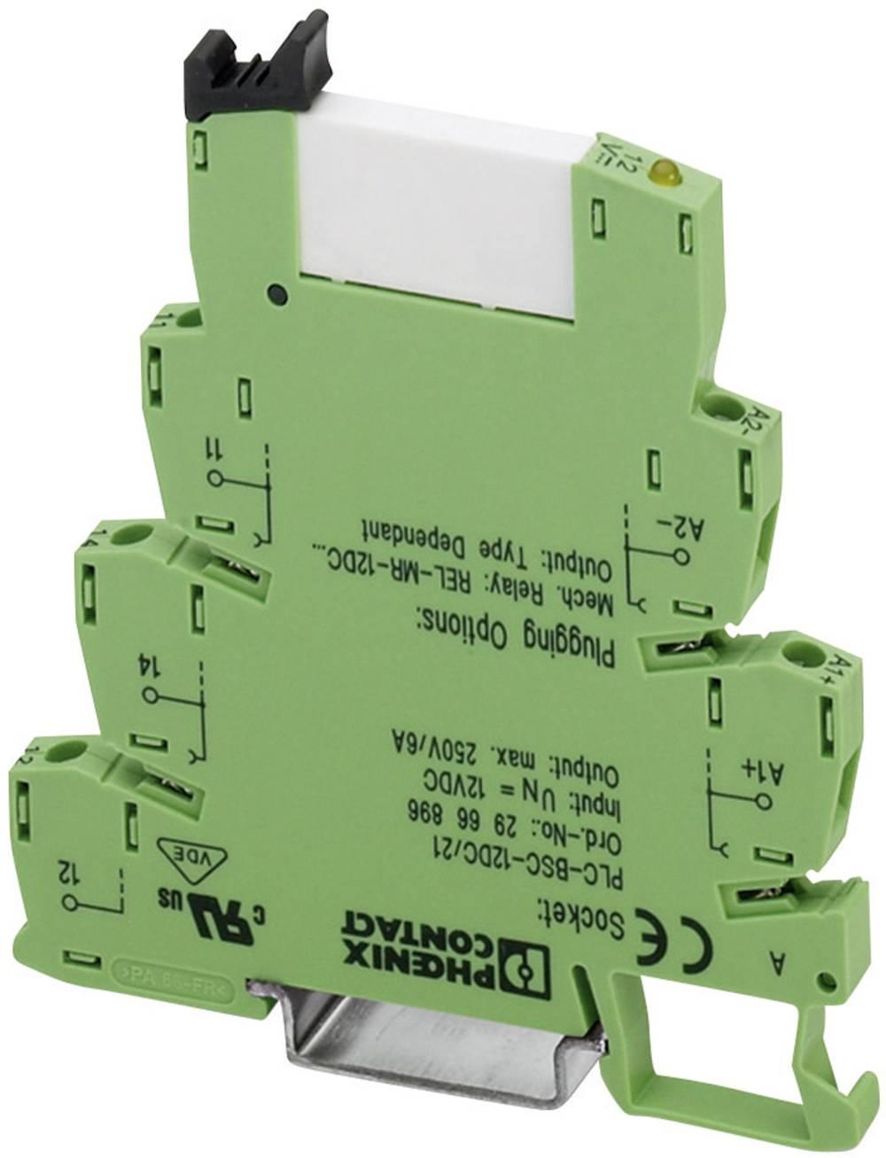 Tidsrelæ Phoenix Contact PLC-RSC- 24DC/PMC T200/21HC Monofunktionel 24 V/DC 1 x skiftekontakt 10 stk