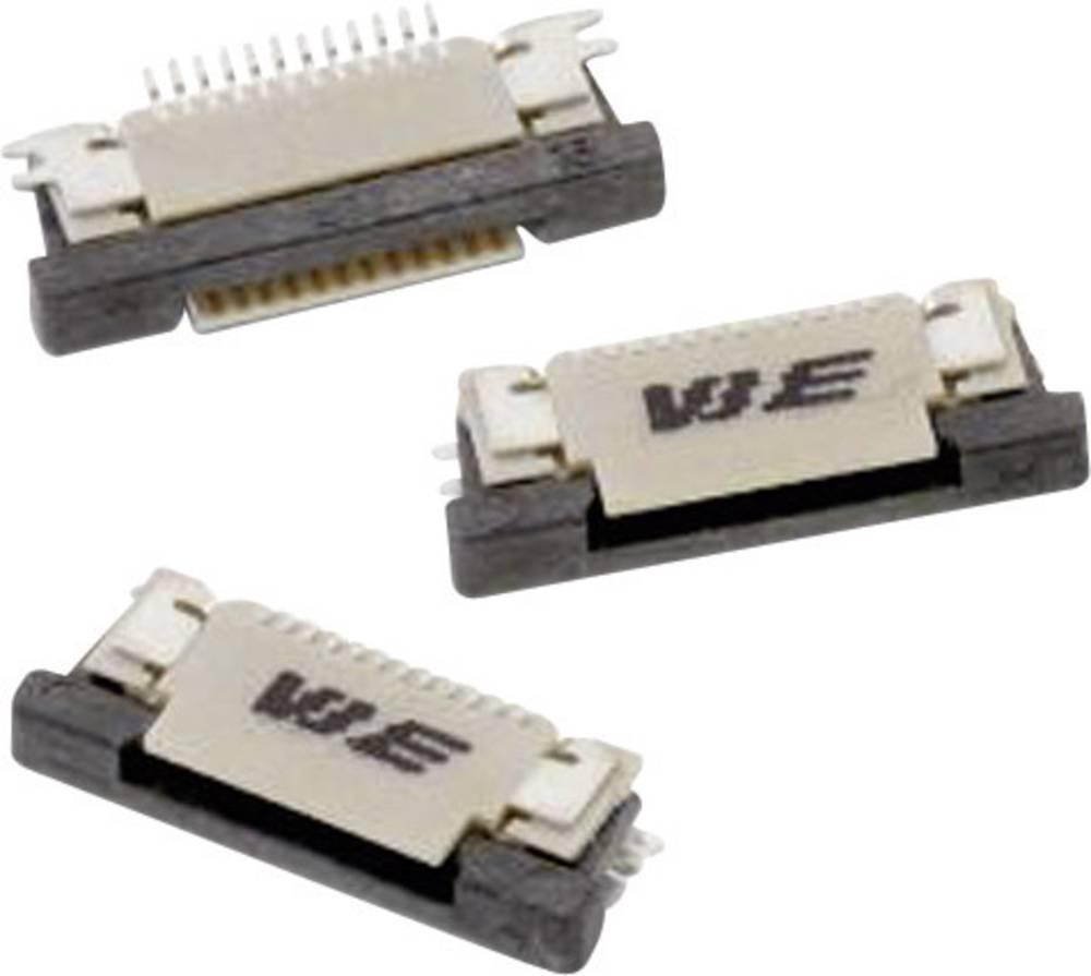 Bøsningsliste (standard) ZIF FPC Samlet antal poler 6 Würth Elektronik 68710614022 Rastermål: 0.50 mm 1 stk