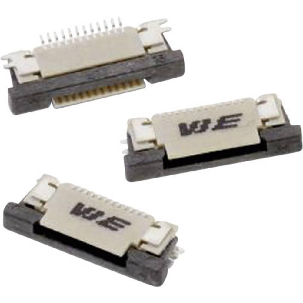 Bøsningsliste (standard) ZIF FPC Samlet antal poler 50 Würth Elektronik 68715014022 Rastermål: 0.50 mm 1 stk