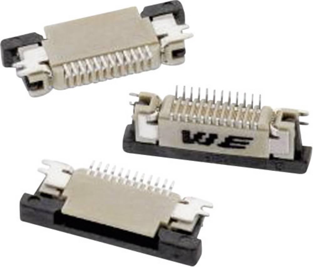 Bøsningsliste (standard) ZIF FPC Samlet antal poler 14 Würth Elektronik 68711414522 Rastermål: 0.50 mm 1 stk