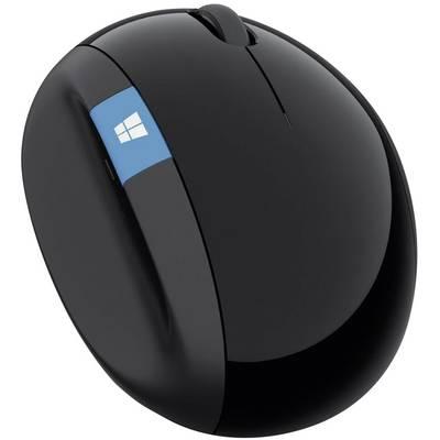Image of Microsoft Sculpt Ergonomic Mouse Radio Wi-Fi mouse Optical Ergonomic Black