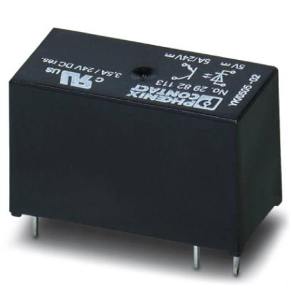Halvlederrelæ 10 stk Phoenix Contact OPT-24DC/ 24DC/ 5 Last-Strøm (maks.): 5 A Koblingsspænding (max.): 33 V/DC