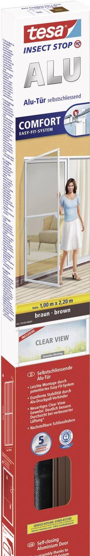 Flugnät tesa Comfort Alu Brun 1 st