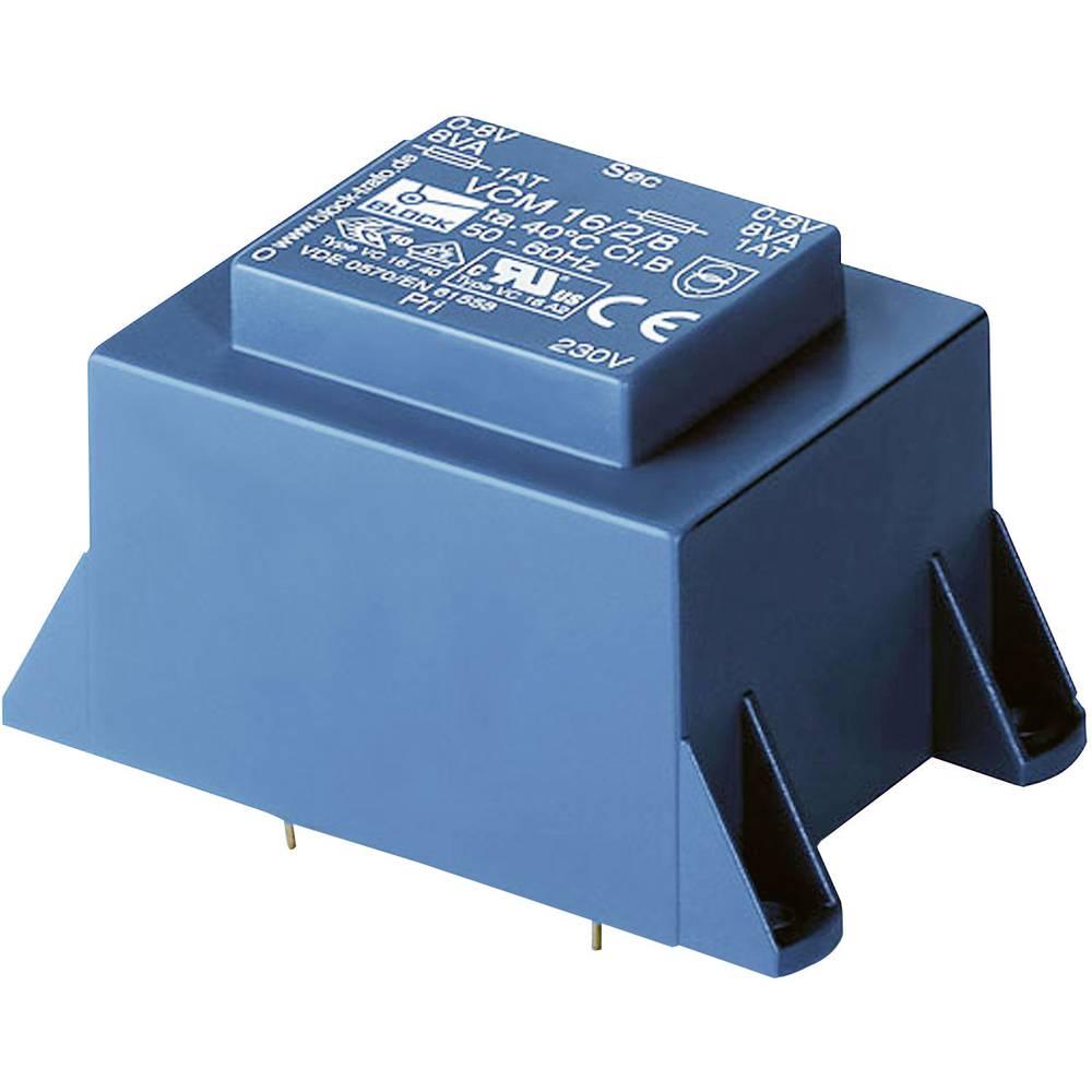 Block VCM 10/2/9 - PCB Mount Transformer 10VA 2x9V 2 x 1 11A