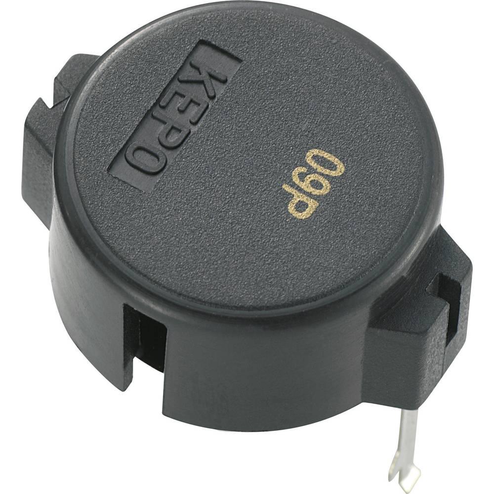 Piezo signalizator KP serije,glasnoća: 90 dB 10 V/AC, prijemel. struje 9 mA KPT-G1910-6239 KEPO