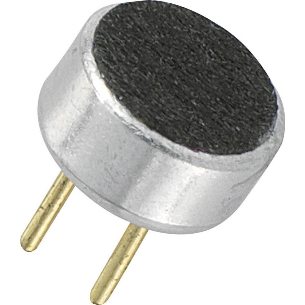 Mikrofonska kapsula serije KPCM, obratovalna napetost 2 V/DC, občutljivost 44 dB ± 3 dB frekvenčno območje 100 - 10000 H