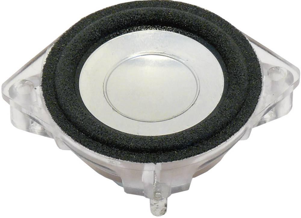 ŠIROKOPASOVNI zvočnik, 4,5 cm79 dB 4 Ohm nazivna moč: 4 W 158 Hz 2240 Visaton