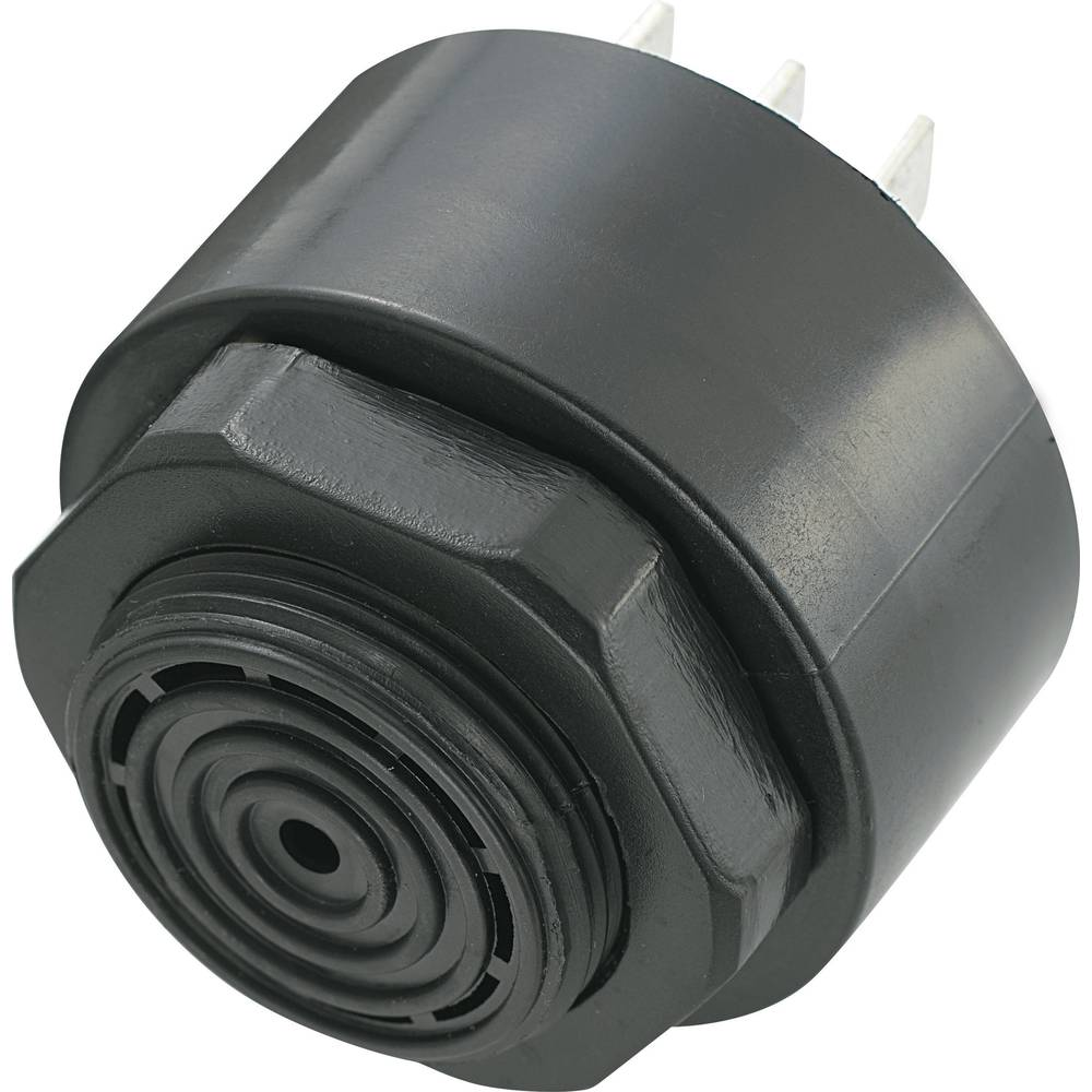 Piezo-Brenčač KPI serije, glasnost: 80 dB 6 - 28 V/DC, sprejem el. toka: 20 mA 2,9 + 0,5.. KPI-G4314-K6294 KEPO