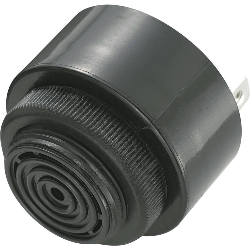 Piezo-Brenčač KPI serije, glasnost: 80 dB 12 V/DC, sprejem el. toka: 20 mA 2,9 + 0,5 kHz.. KPI-G4320-6299 KEPO