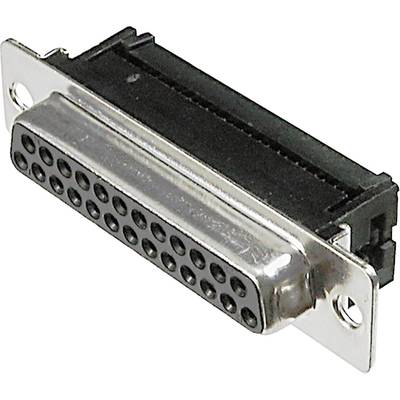 Image of ASSMANN WSW A-DFF 37LPIII/Z D-SUB receptacles 180 ° Number of pins: 37 Cut & Clip 1 pc(s)