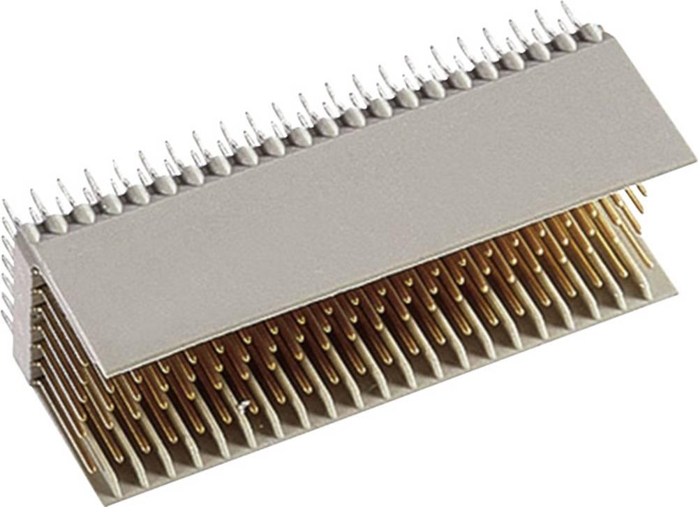 Hankonnektor hm 2,0 mannelijke Type B22 154P. klasse 2 Samlet poltal 154 Antal rækker 7 ept 1 stk