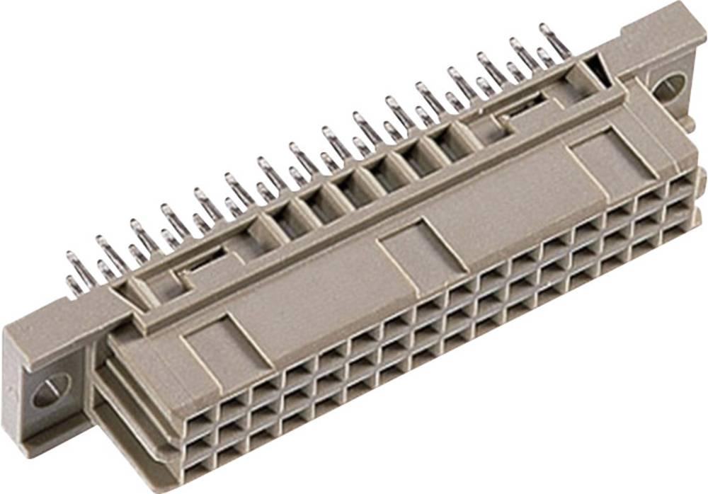 Multistikfatning DIN 41 612 Type C / 2 48F-FET abc 13 mm straight Samlet poltal 48 Antal rækker 3 ept 1 stk