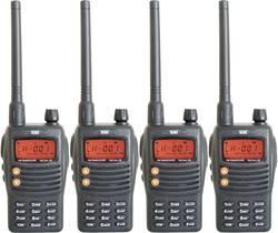 PMR-handradio Team Electronic TeCom-X5 Set 4 st