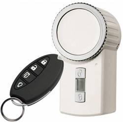 HomeMatic 131761 KeyMatic brezžično prožilo za zaklepanje vrat, bele barve, vklj. daljinski upravljalnik