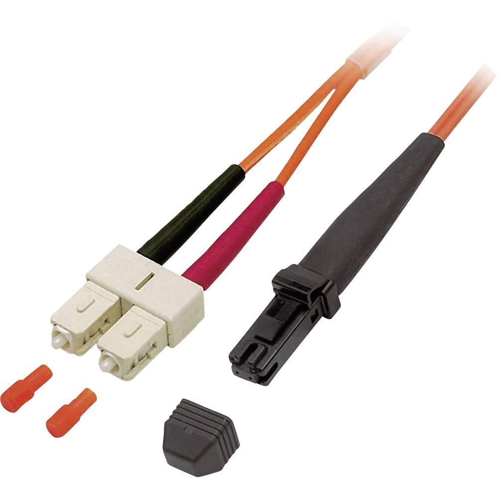 Optični priključni kabel [1x MTRJ vtič - 1x SC vtič] 50/125µ Multimode OM2 20 m EFB Elektronik