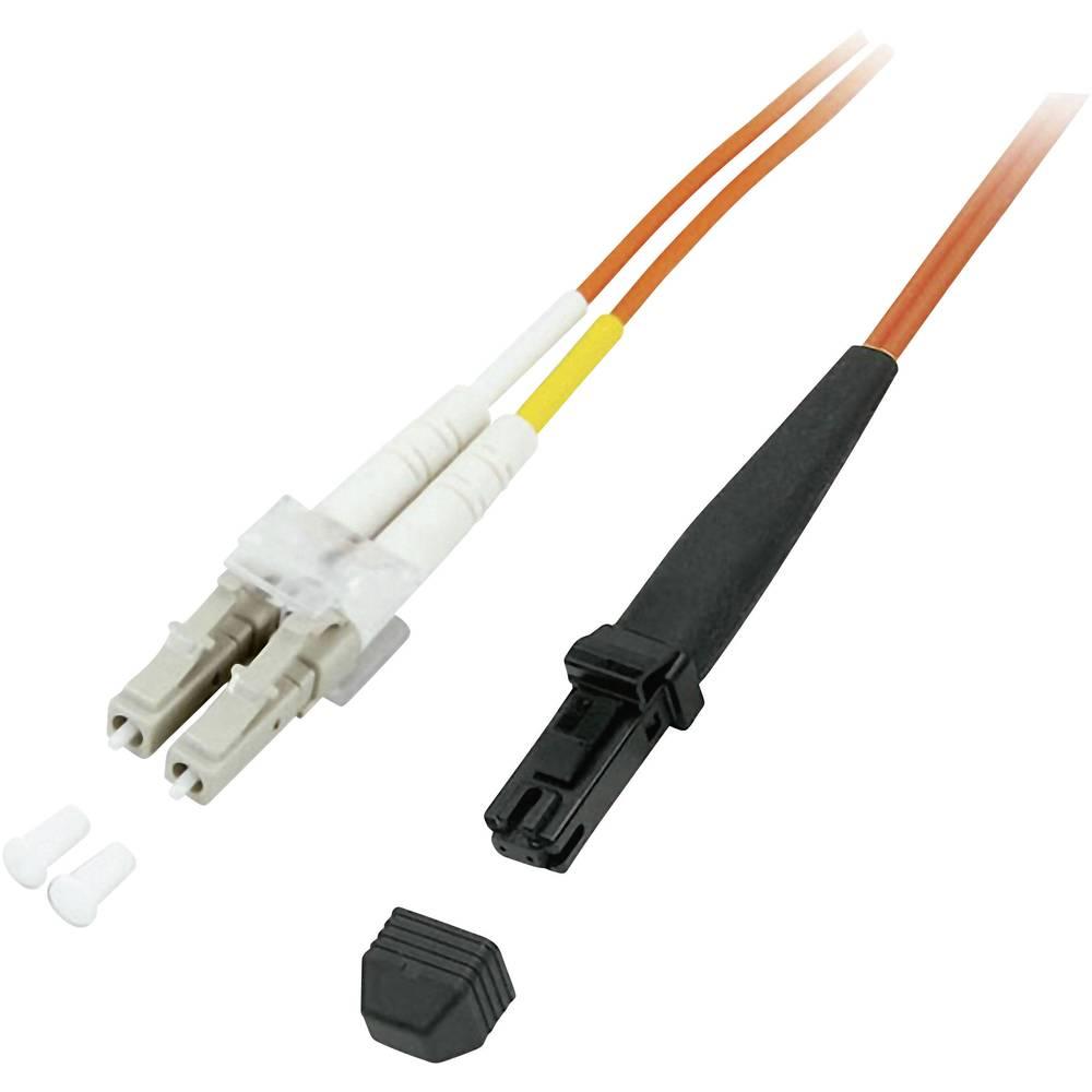 Optični priključni kabel [1x MTRJ vtič - 1x LC vtič] 50/125µ Multimode OM2 10 m EFB Elektronik