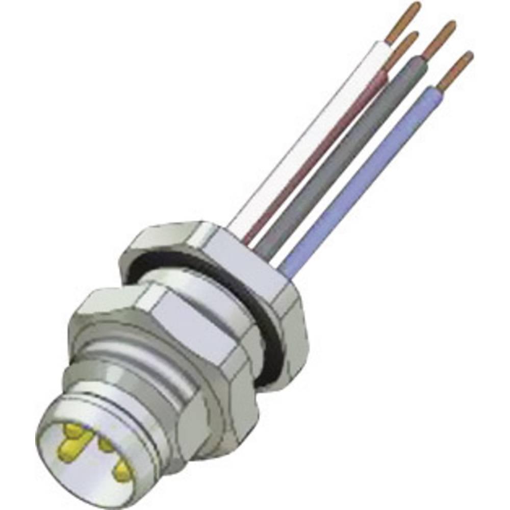 Sensor- /aktor-stikforbinder til indbygning Conec SAL-8-FSH4-0,2 1 stk