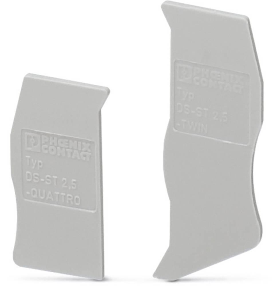 DS-ST 2,5 - cap segmentet DS-ST 2,5 Phoenix Contact Indhold: 10 stk