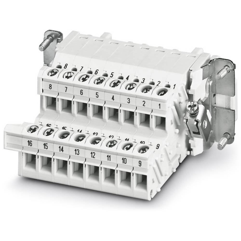 HC-B 16-A-UT-PEL-F - Terminal Adapter Phoenix Contact HC-B 16-A-UT-PEL-F 5 stk