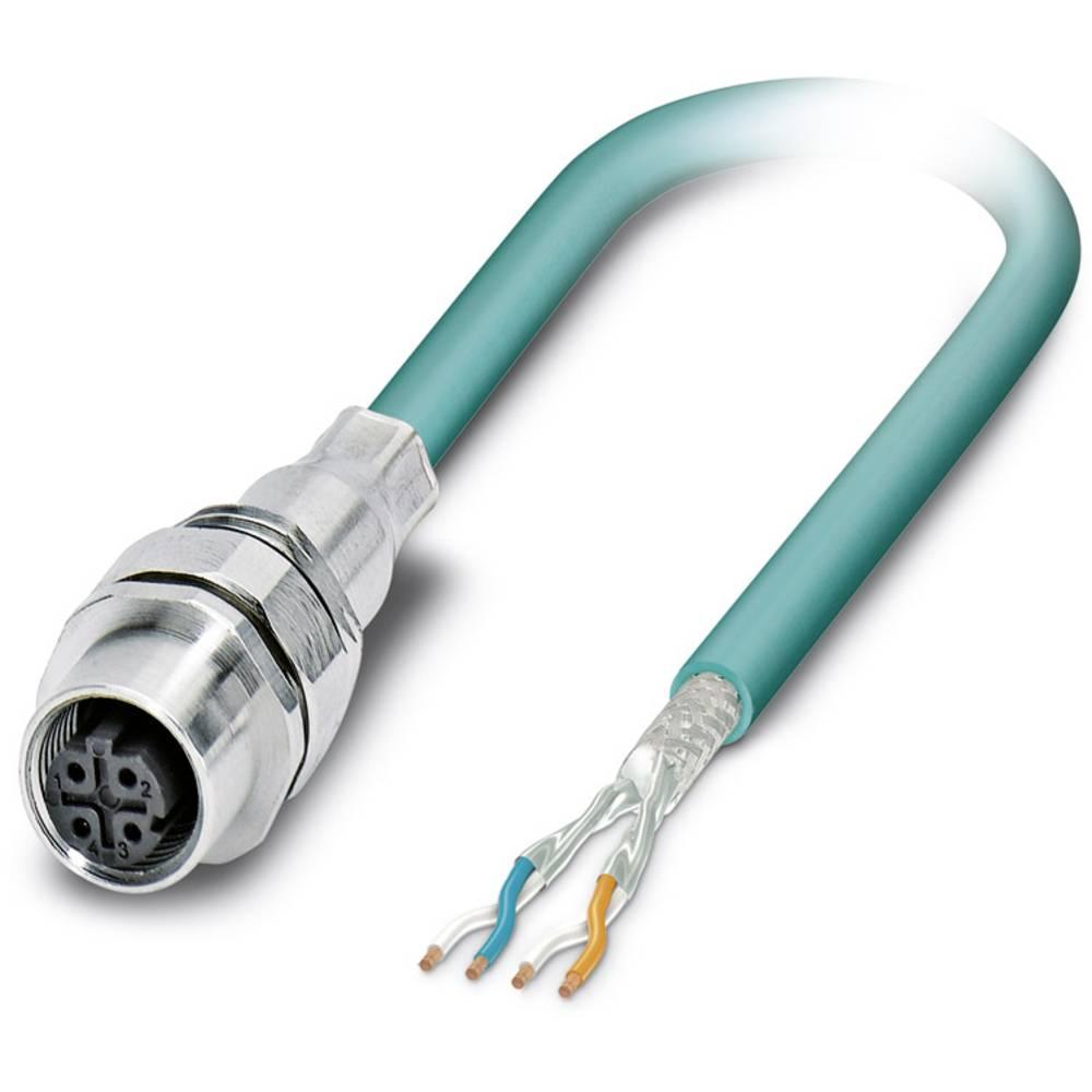 SACCEC-M12FSD-4CON-M16/1,0-931 - S-bus-vgradni vtični konektor, SACCEC-M12FSD-4CON-M16/1,0-931 Phoenix Contact vsebuje: 1 kos