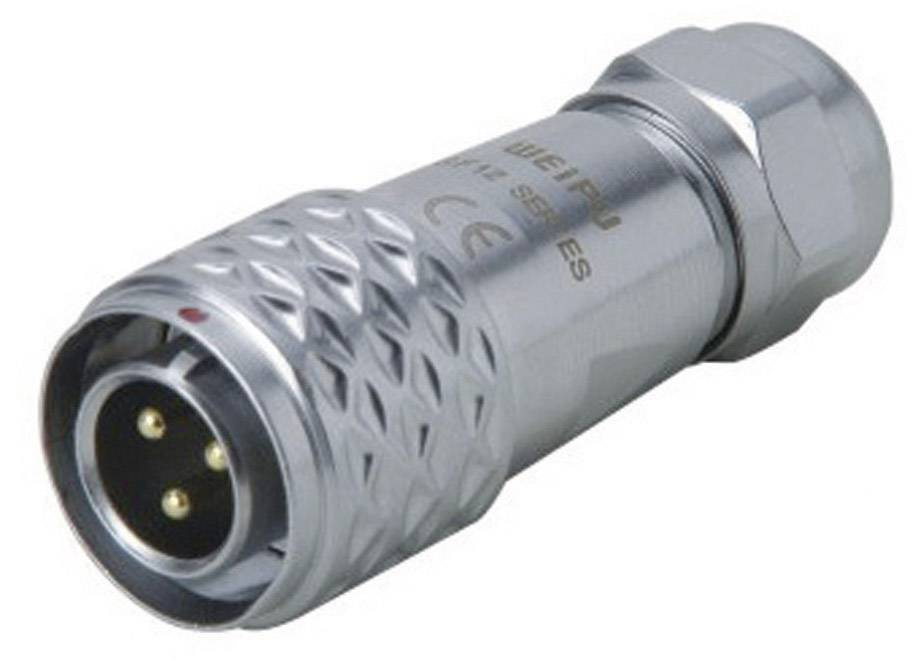 Weipu Sf1210 P2 I Bullet Connector Plug Straight Series Connectors Sf12 Total Number Of Pins 2 1 Pc S Conrad Com